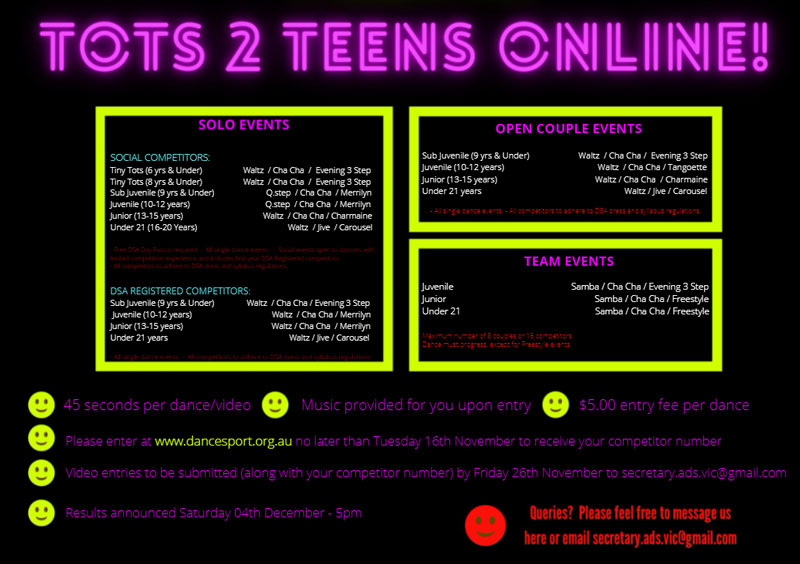 2021 ADS Tots to Teens Online