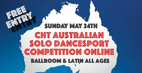 New date for CHT Australian Solo DanceSport Competition Online