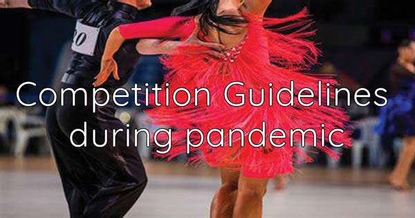 Temporary Instructions for Competition Organisers