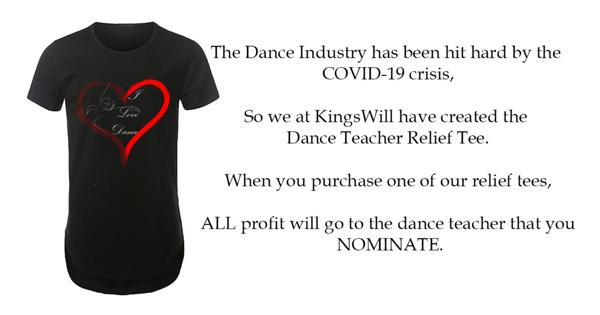Dance Teacher Relief Tee
