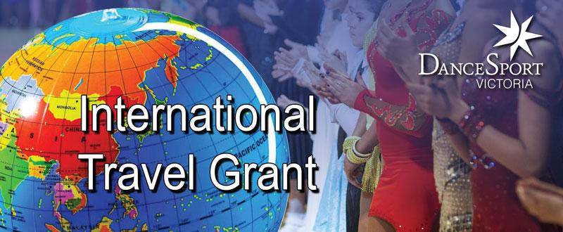 DanceSport Victoria International Travel Grant
