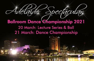 2021 Adelaide Spectacular Ballroom Dance Championship