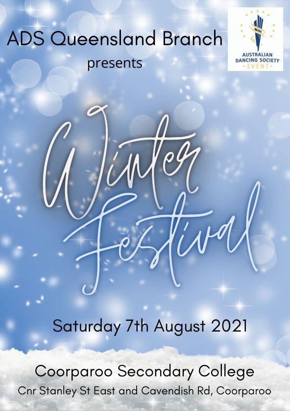 2021 ADS Qld Winter Festival Syllabus