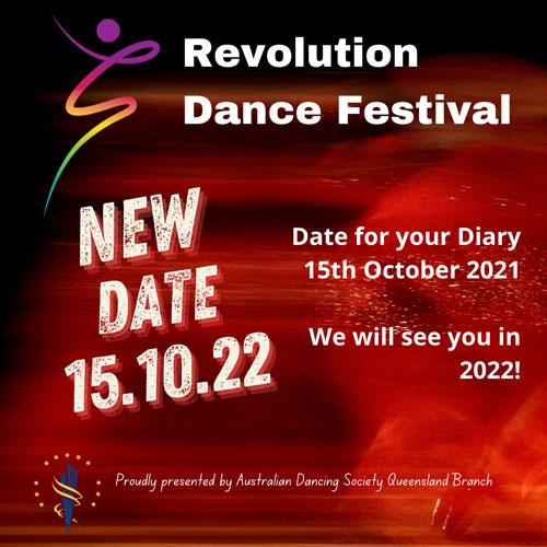 2021 ADS Revolution Dance Festival - Cancellation