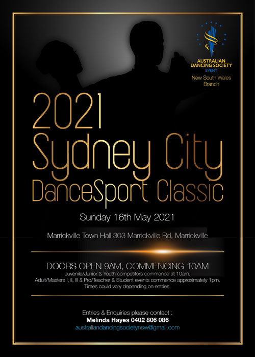 2021 ADS Sydney City Classic poster