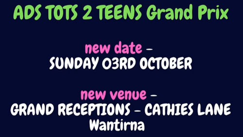 2021 ADS Vic Tots 2 Teens - New Date