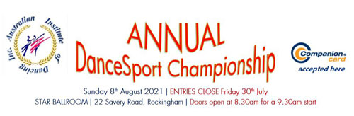 2021 AID Annual DanceSport Championship
