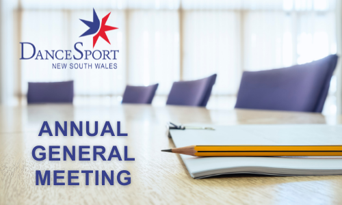 2021 DanceSport New South Wales AGM Notice