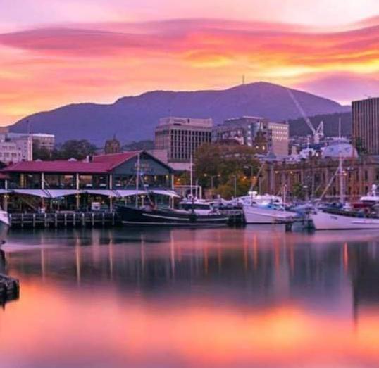 Hobart DanceSport Festival wharf