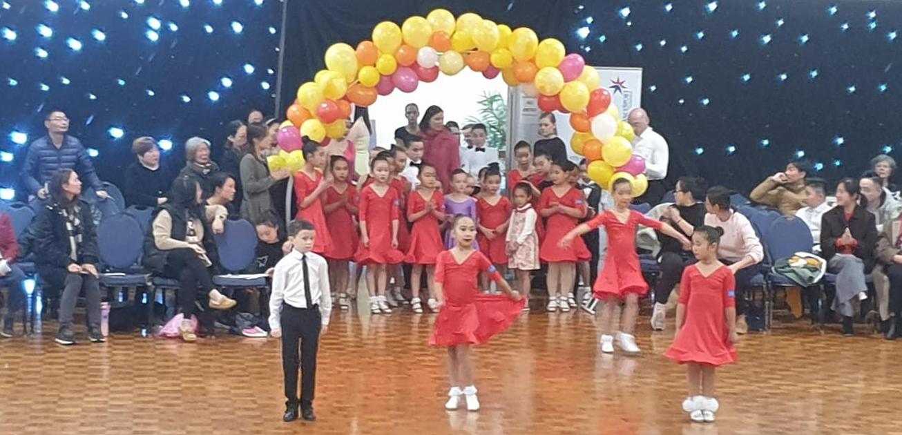 Hobart DanceSport Festival kids