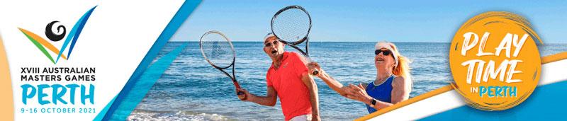 XVIII Australian Masters Games Perth header