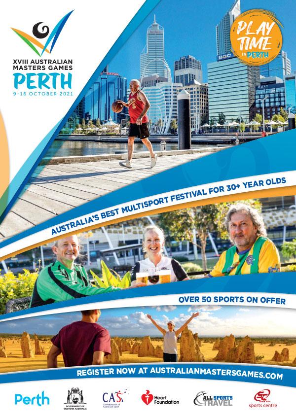 2021 Masters Games Perth