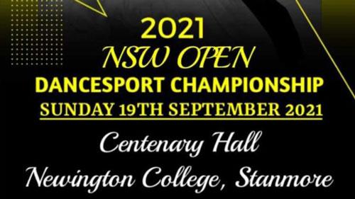 2021 NSW Open DanceSport Championship