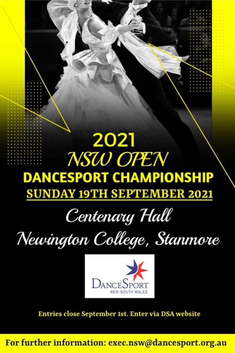 NSW Open DanceSport Championship