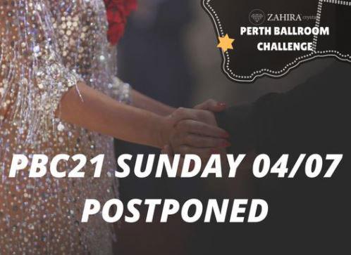 2021 Perth Ballroom Challenge - POSTPONED