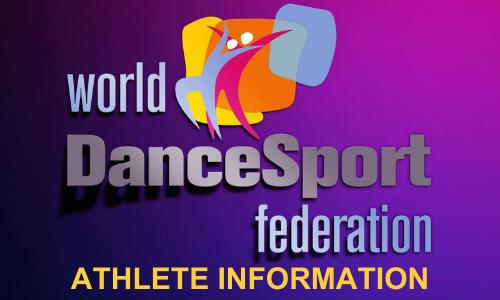 WDSF Athlete Information