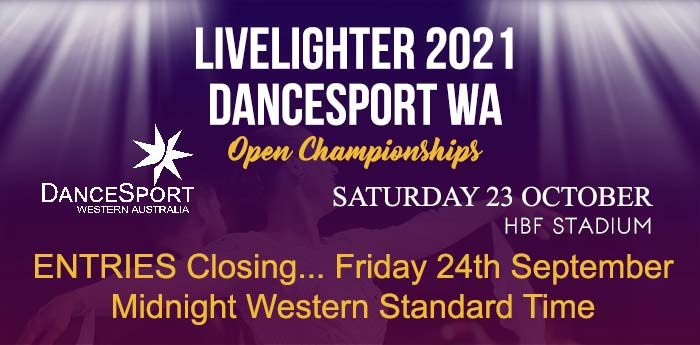 W.A. Open Countdown to Championship only 4 weeks away!