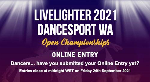 2021 WA Open Online Entry