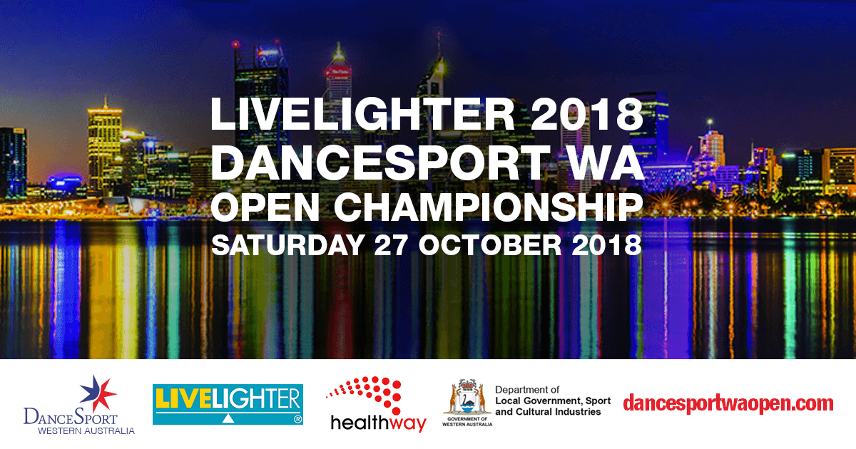 DanceSport WA Open Championship 2018