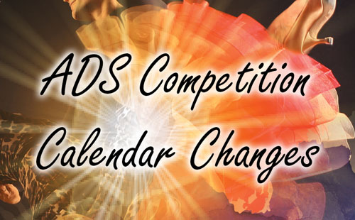 ADS Competition Calendar Changes