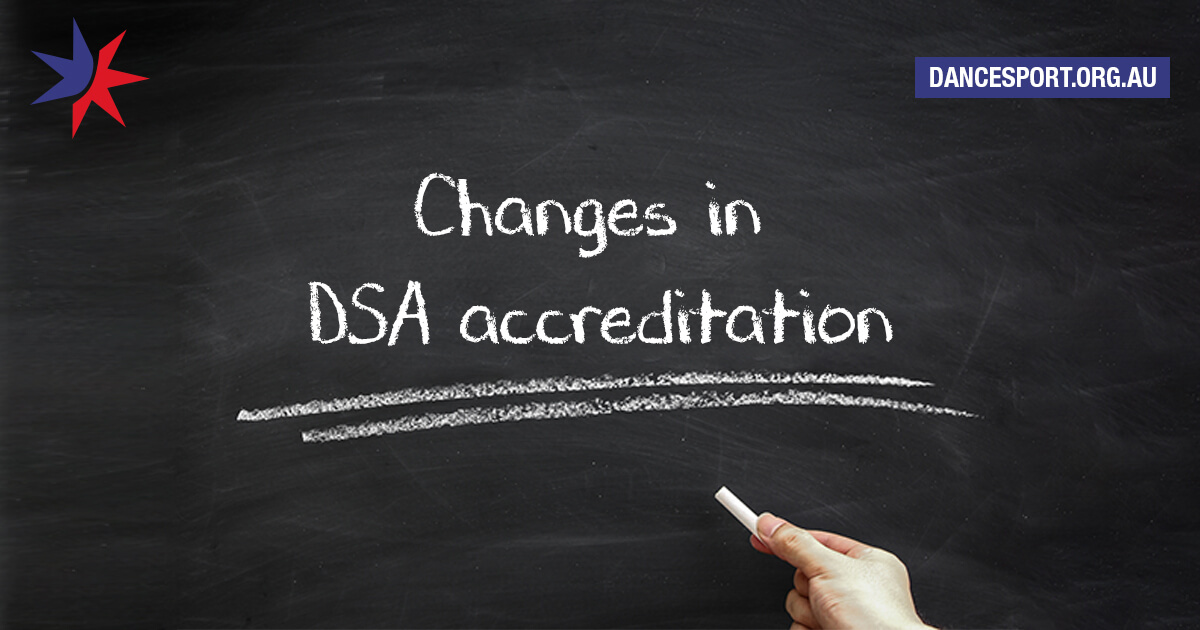 Exciting changes to accreditation