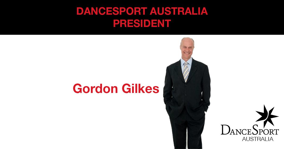 Welcome Gordon Gilkes, new President DSA