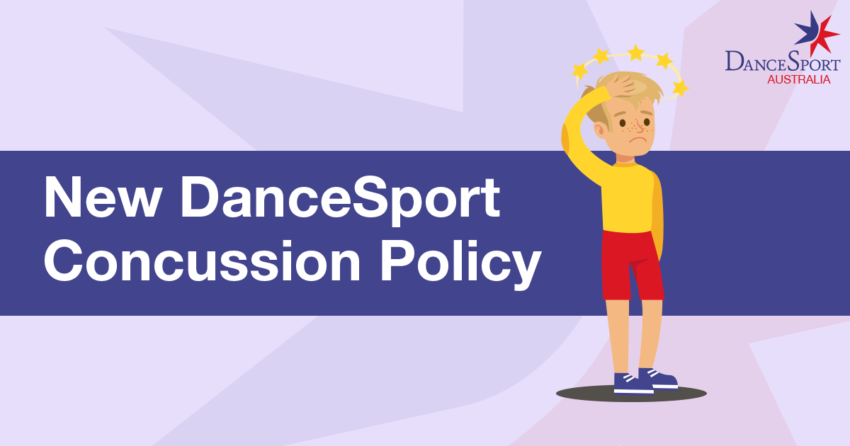 Dancesport Australia concussion policy for ballroom competition