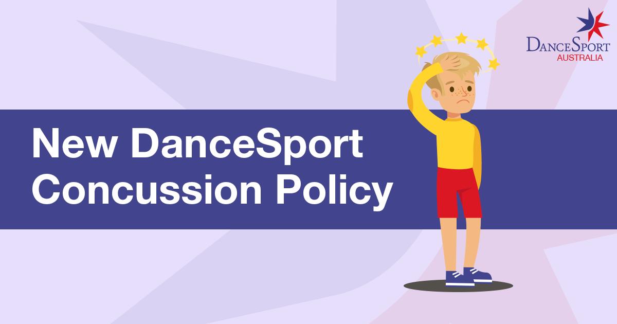 DanceSport Australia policy on concussion