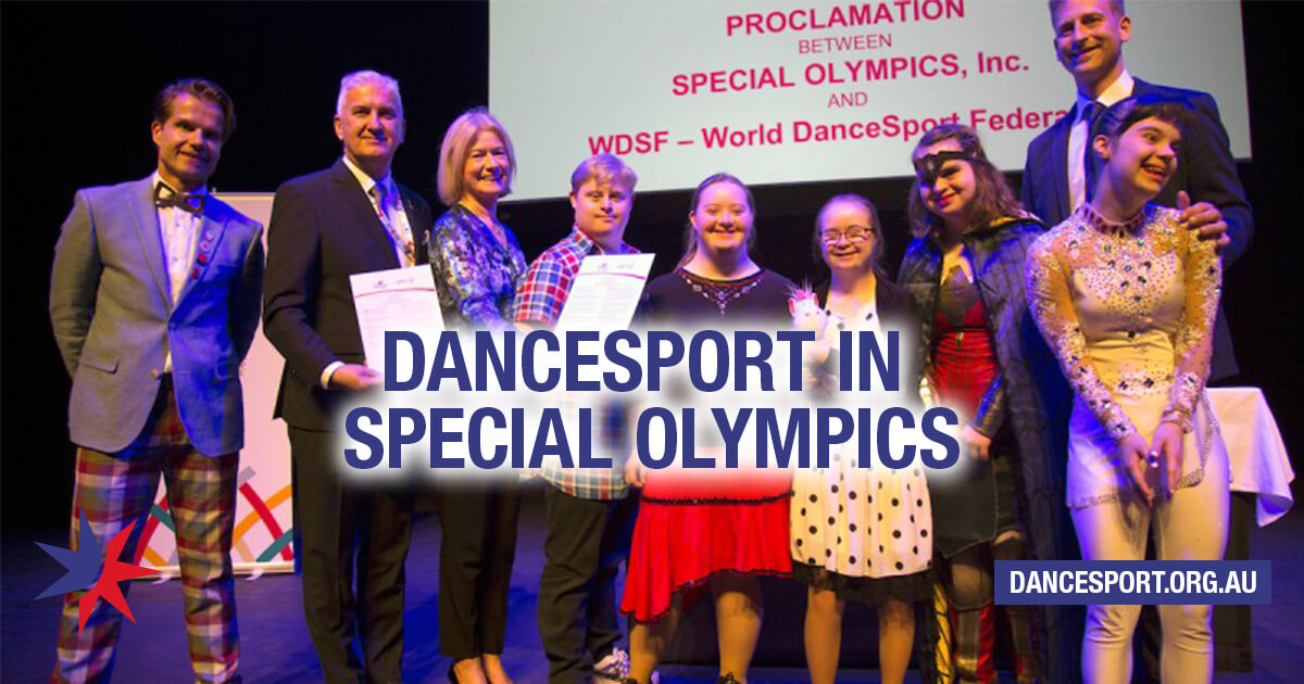 DanceSport in International Special Olympics