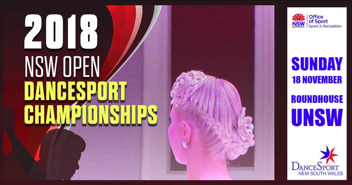 DanceSport NSW Open Championship 2018