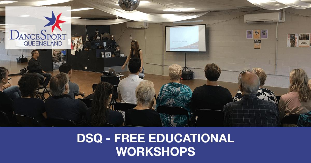 Queensland - great free workshop series!