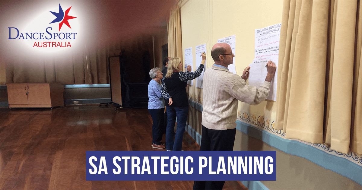 News from SA - Development of its strategic plan