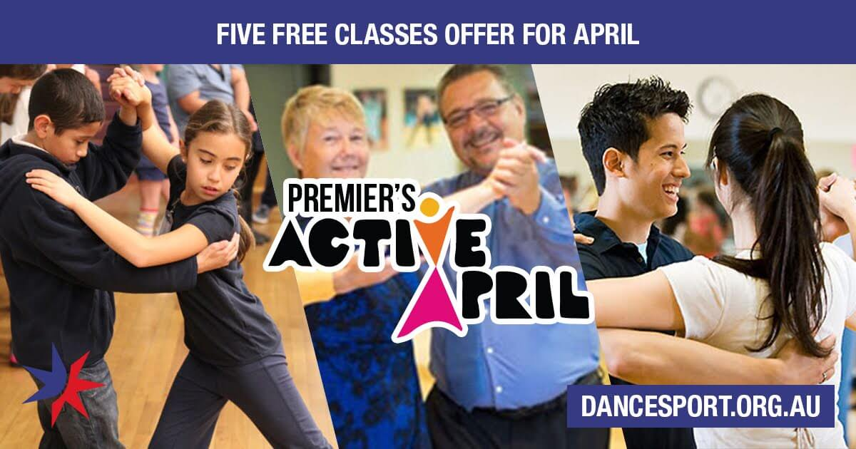 Inspire fellow Victorians to try out dancing with five free classes in April