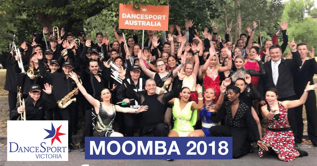 It was big team for DanceSport Victoria at the Moomba Parade 2018!