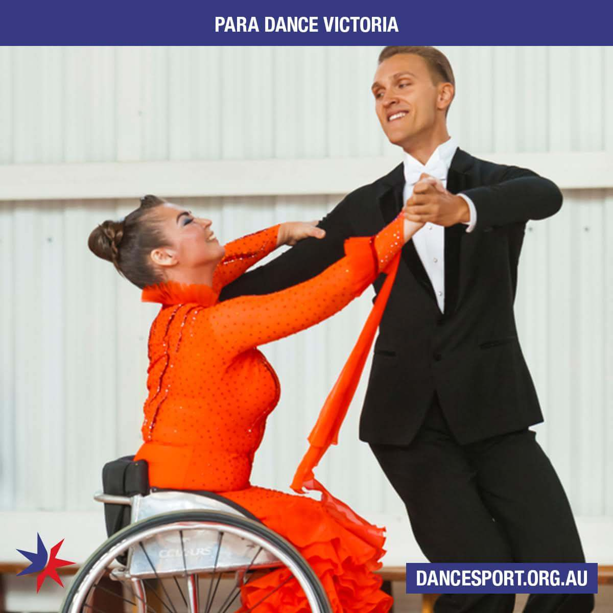 Para Dance comes to Victoria - first Come and Try Day - great success
