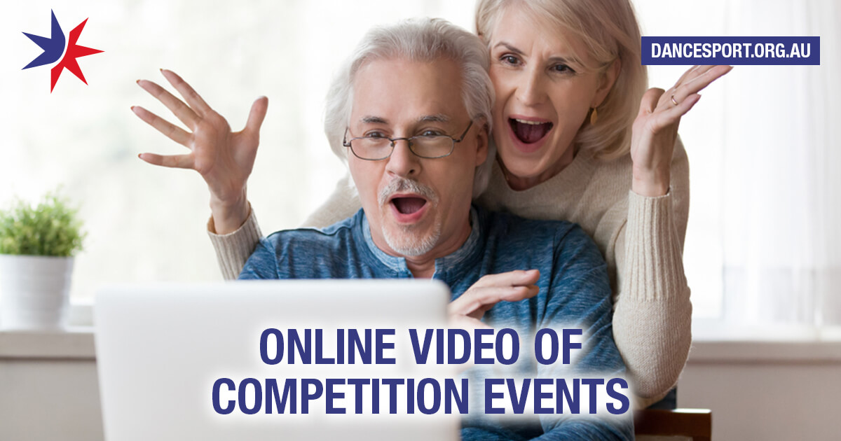 Online video of Queensland DanceSport competition events